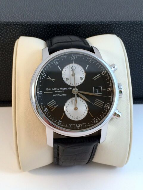 92a6ca201d8 Baume Mercier Classima XL Executive Automatic Mens Chronograph Watch 8733