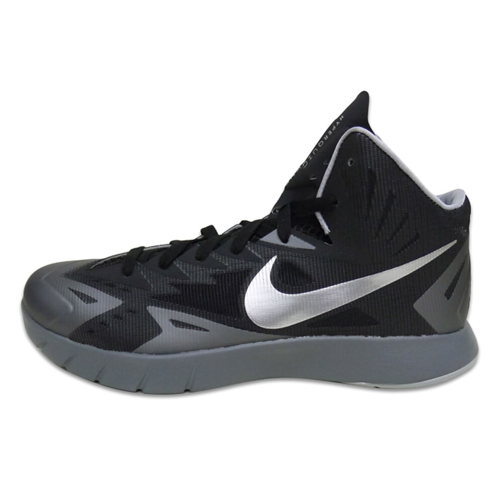 Nike Lunar Hyperquickness Black Metallic Silver Cool Grey Wolf Grey 652777 004