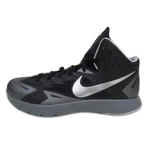 8e5ea45ff21d Image is loading Nike-Lunar-Hyperquickness-Black-Metallic-Silver-Cool-Grey-