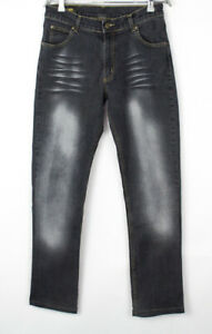 Lee Hommes Roseau Droit Jambe Slim Jeans Extensible Taille W32 L30