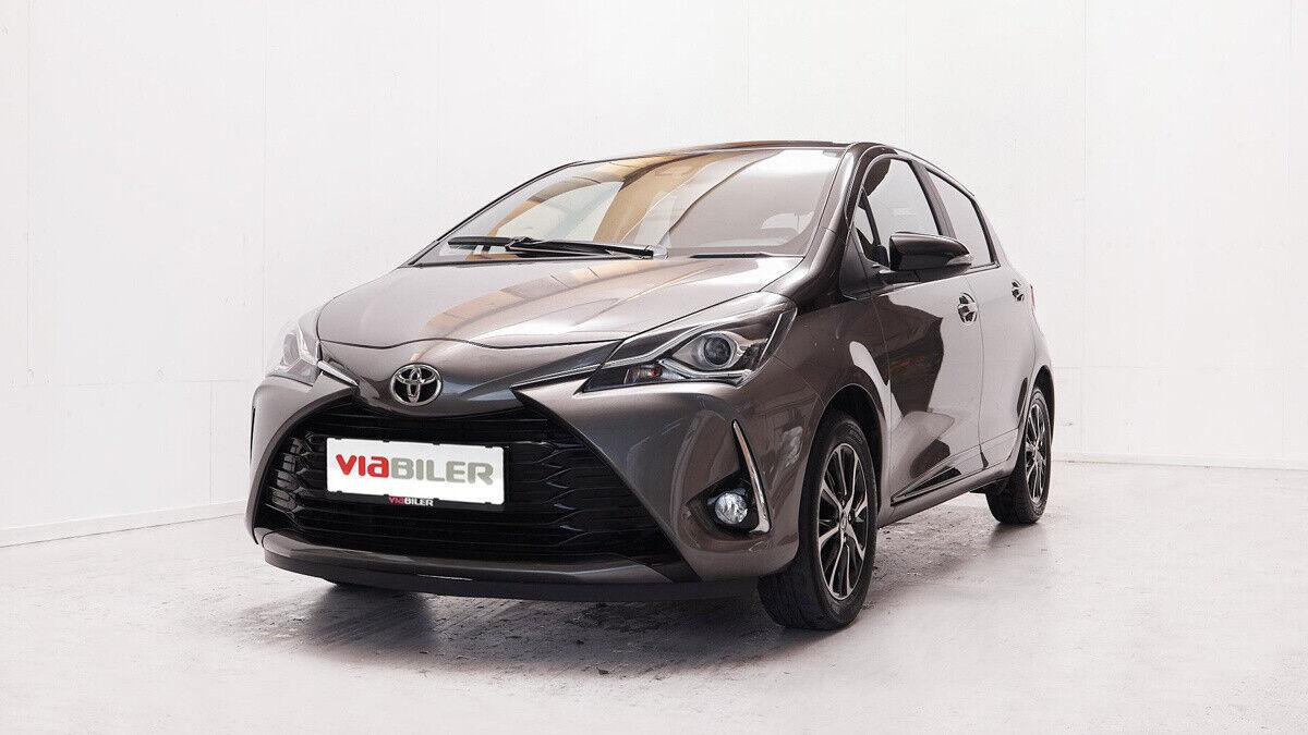 Toyota Yaris 1,5 VVT-iE T2 Premium 5d - 154.900 kr.