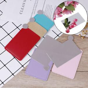 Card-Pocket-Mirror-Makeup-Portable-Travel-Stainless-Steel-Unbreaka-B-PTUKTWUK
