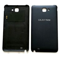 (black) Samsung Galaxy Note Lte I717 Back Cover Battery Door Us