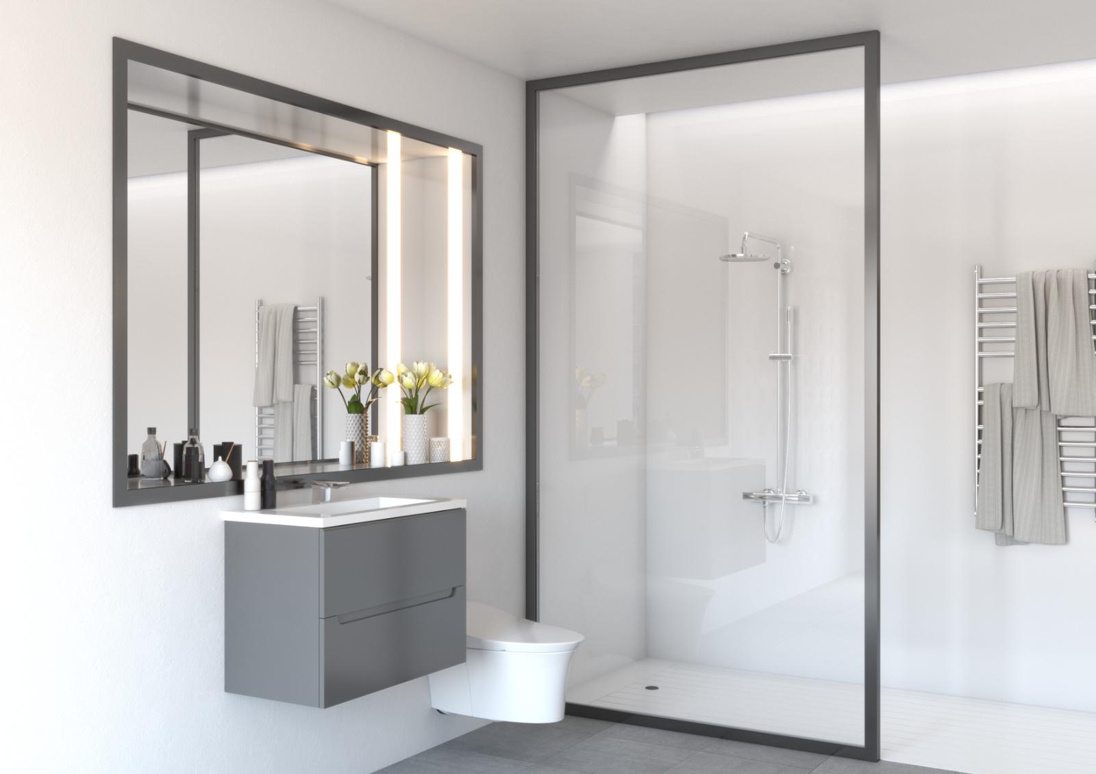decorative white gloss bathroom shower wet wall panels pvc