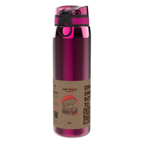 1200ml Stainless Steel Ion8 Leak Proof 1 litre Sports Water Bottle 4 COLOURS!