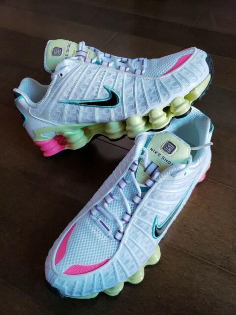 Nike Shox TL White/White AV3595-100 - nsneakersale.com