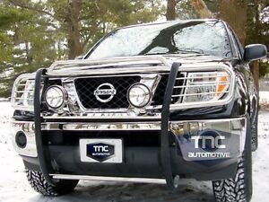 2005 2008 guard fits nissan frontier grill brush guard. Black Bedroom Furniture Sets. Home Design Ideas