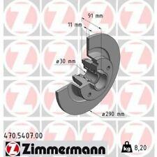 ZIMMERMANN Bremsscheibe 470.5407.00 für RENAULT