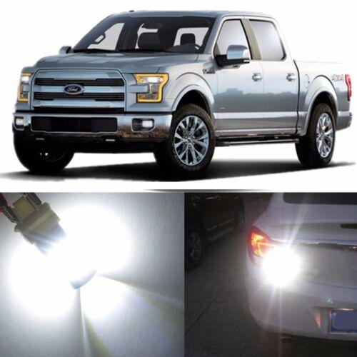 Alla Lighting Turn Signal Light White LED Bulb Blinker Lamp for Ford Super Duty