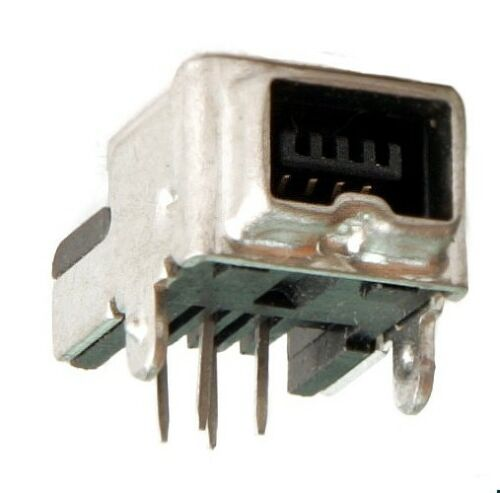 1st. Conector Firewire 4 pines IEEE 1394 a-iee-m4p printmontage 90 ° Assmann tipo