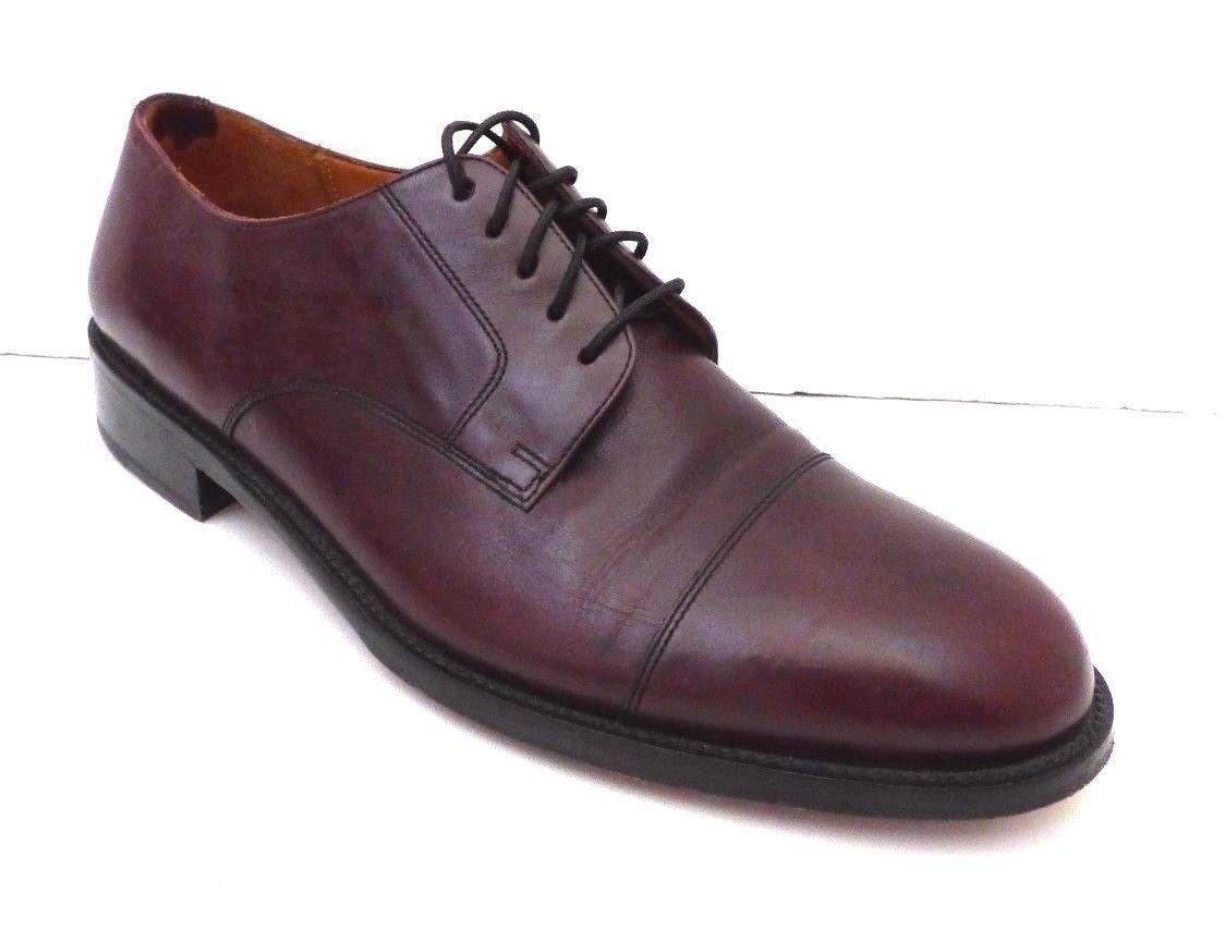 Cole Haan City Oxford bordeaux en cuir   Captoe Chaussures homme 9 D Taille 9D