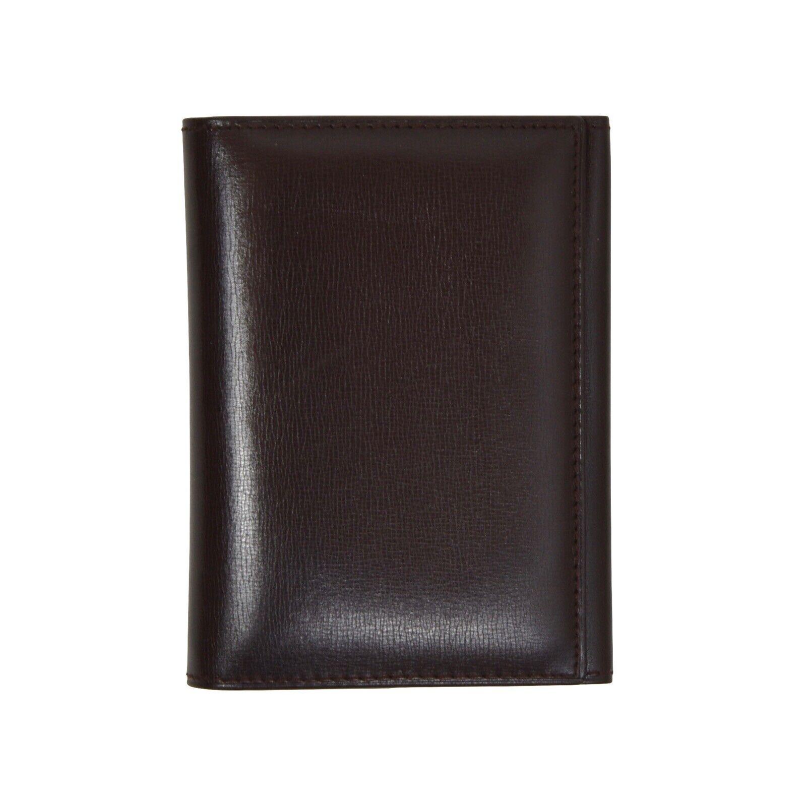 Hans Knoll Wien Brieftasche Geldtasche Wallet Leder Leather Braun Brown Classic