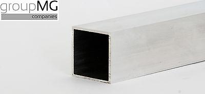 Aluminium Quadratrohr- Aluminium Vierkantrohr 1000 mm bis 2000 mm Längen