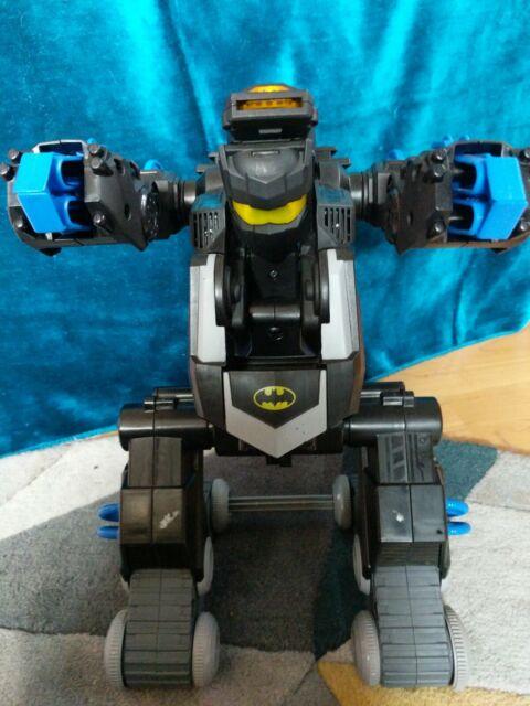 Imaginext DC Super Friends Transforming Batbot Replacement Batman Figure DYH09