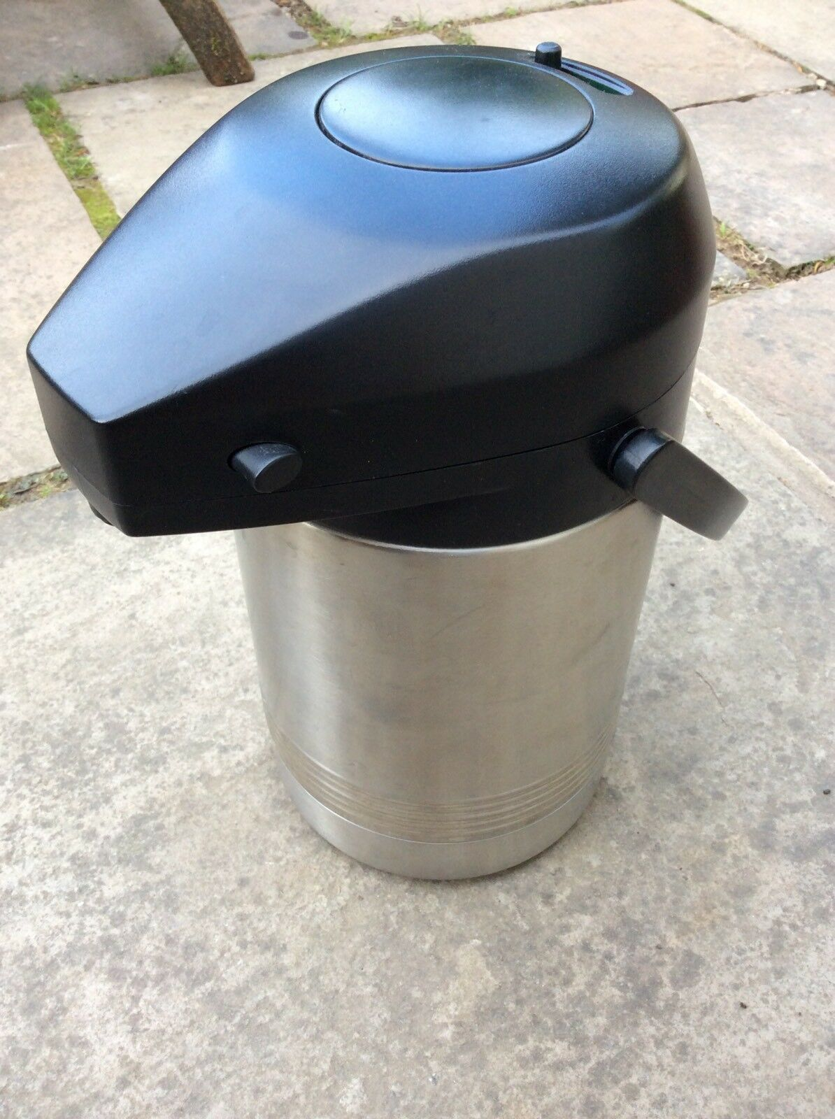 Emsa President Stainless Steel Pump Vacuum Jug 2,0L