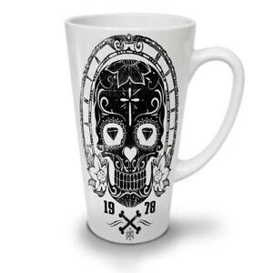 Cross Skull Dead NEW White Tea Coffee Latte Mug 12 17 oz | Wellcoda