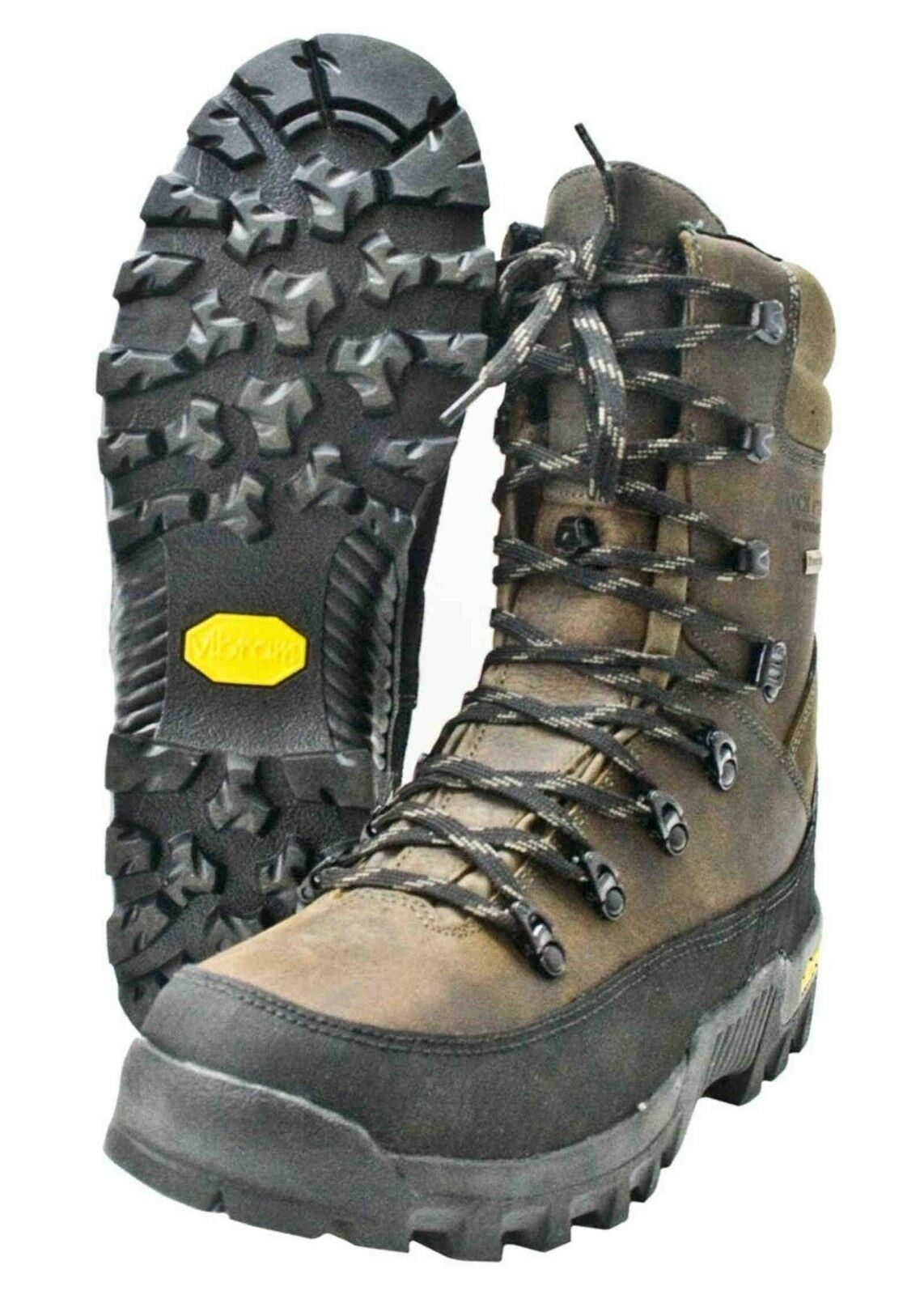 Jack Pyke Hunters botas De Cuero Impermeable botas De Tiro Caza fieldsman