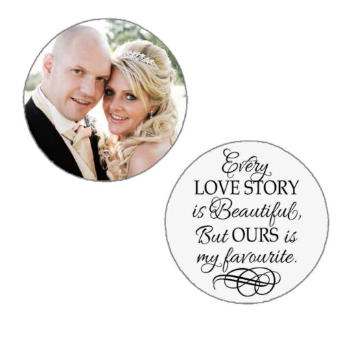 Silver Plated Photo Necklace Photo Pendant Personalised Floating Memory Locket