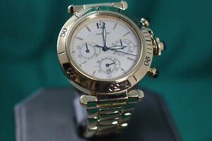 Cartier-Pasha-18K-Yellow-Gold-Chronograph-38mm-Watch-0960-1