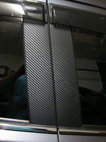 CARBON FIBER Di-Noc Pillar Posts for Honda Pilot 09-15 6pc Set Door Trim Cover