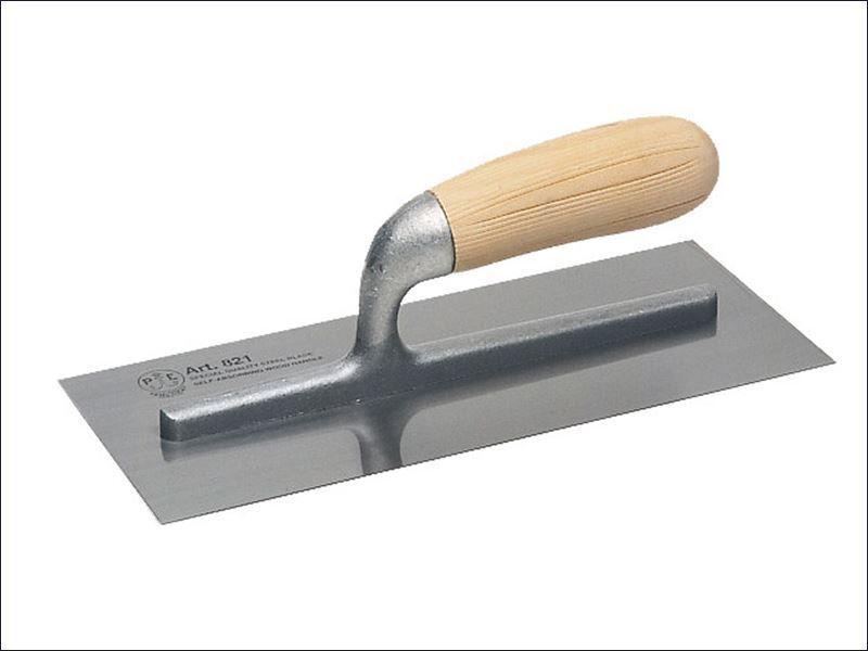 Faithfull - 821 Plastering Trowel Wooden Handle 11in x 4.1 2in - 821 S