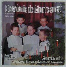 Escolania de Montserrat 45 tours Espagne 1962