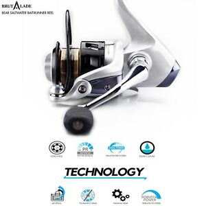 Fishing-Reel-Superior-Value-Big-Brand-Quality-BRUTALADE-Spinning-Reels