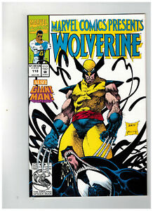 MARVEL-COMICS-PRESENTS-118-1st-Printing-Wolverine-Venom-1992-Marvel