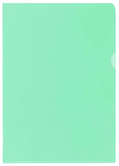 25 ELBA Sichthüllen grün glatt