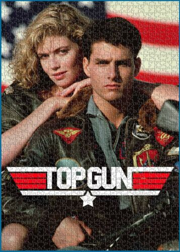 Top Gun Tom Cruise Movie Maverick Fighter Pilots Hobby Puzzle Jigsaws 1000 Pcs