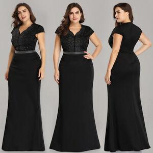 Ever-Pretty-Plus-Size-V-Neck-Long-Beaded-Evening-Dresses-Cocktail-Prom-Dresses