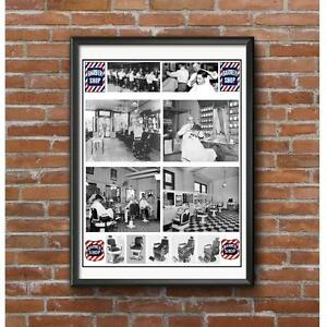 Classic-Barber-Shop-Tribute-Poster-Vintage-Barber-Images-and-Barber-Chairs