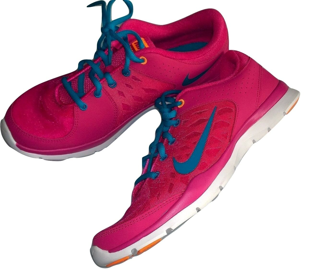 Nike WMNS Flex Experience RN Sneaker Pink Größe 37,5 (UK 4)