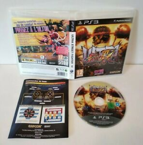 Ultra-Street-Fighter-IV-Jeu-PS3-Pal-francais-Comme-neuf-Complet
