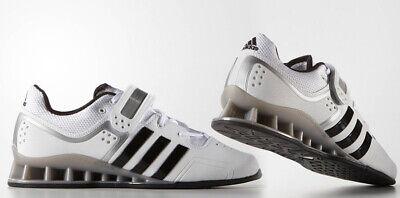 Adidas Adipower Weightlifting Shoes Black/White BA7923   eBay