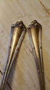 Vintage WM Rogers & Bros. AA Flatware 2 spoons