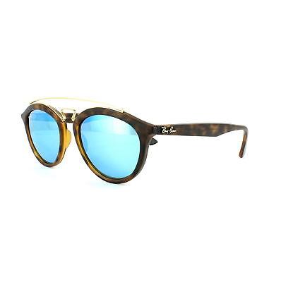 f6ed62baba Sunglasses Ray-Ban Rb4257 6092 55 53 Matte Havana Mirror Blue