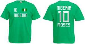 Nigeria Moses T-Shirt Trikot WM-2018 Look NEU - Gunzenhausen, Bayern, Deutschland - Nigeria Moses T-Shirt Trikot WM-2018 Look NEU - Gunzenhausen, Bayern, Deutschland