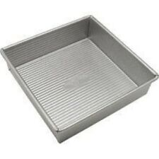 "USA Pans 9"" Square Cake/Brownie Pan - Aluminized Steel"