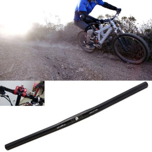Aluminum Alloy 25.4mm Handlebar Straight Bike MTB Bicycle Riser Flat Handle Bar