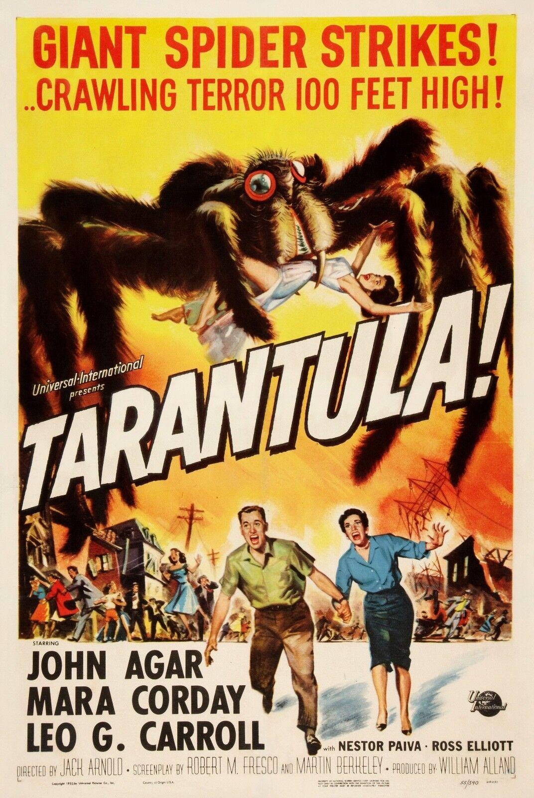 Tarantula Vieux Vieux Vieux Film Poster Toile Boîte/Photo/Art Imprimé 2dd370