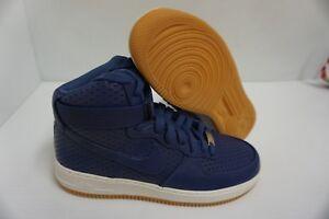 Detalles de Mujer Nike Air Force 1 Hi Prm Púrpura Oscuro Baloncesto Zapatos Talla 11 Eu