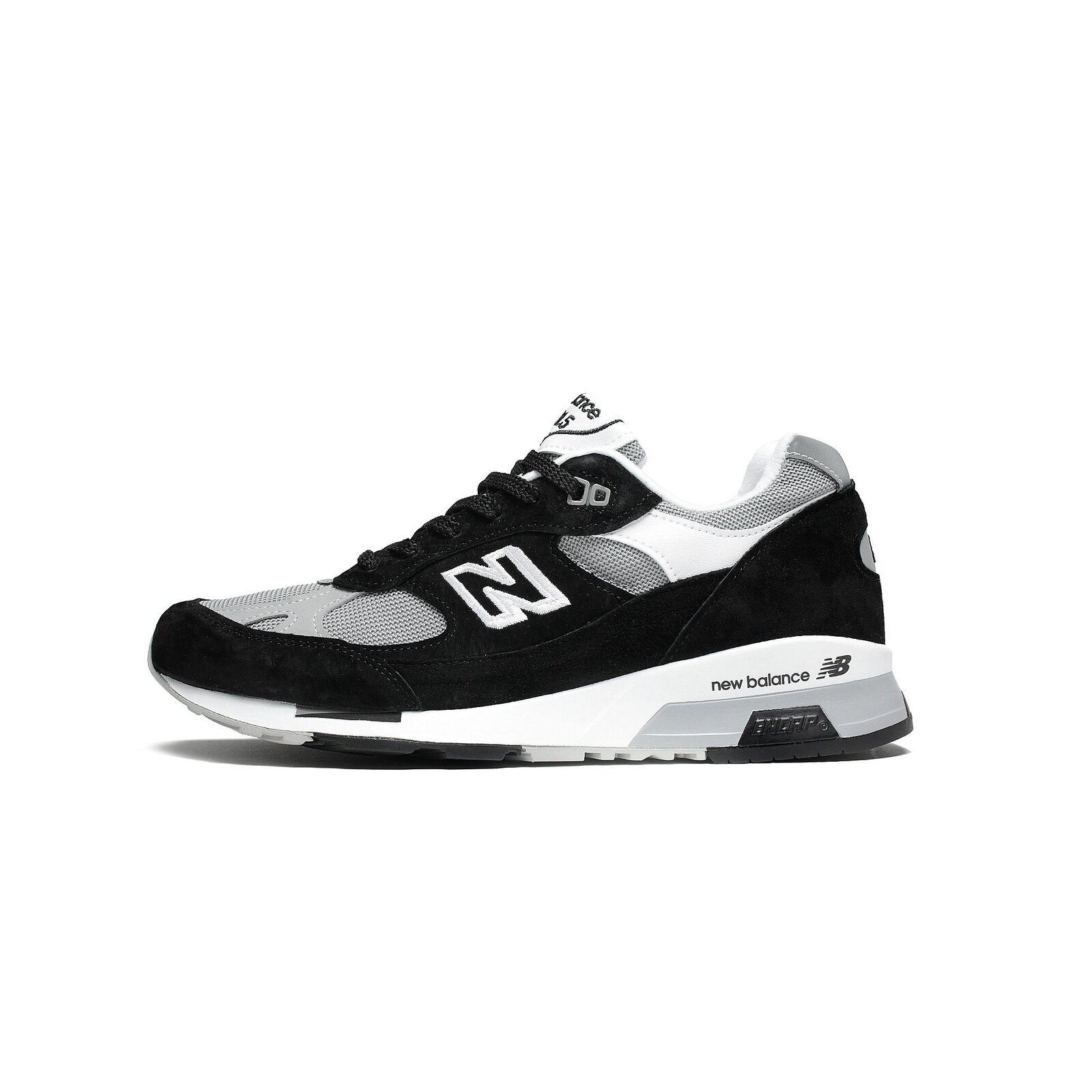 Mens New Balance 9915 White Made In England Black Grey White 9915 M9915BB 51202c