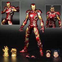 Iron Man Mark MK 43 XLIII Avengers Age of Ultron Figure Figurine No Box