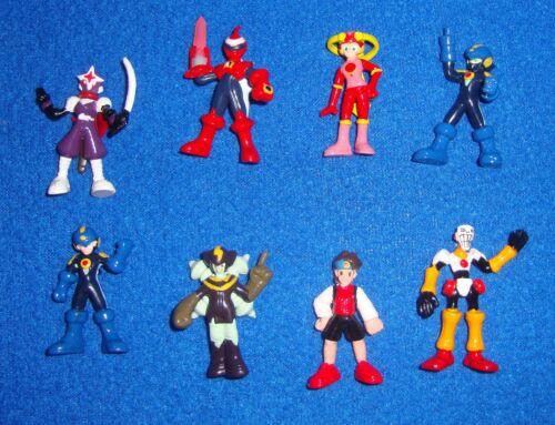Bandai Megaman EXE Japanese Capsule Toy Set of 8 Figures