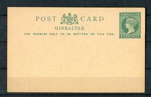 Tolle-ungebrauchte-Ganzsache-Gibraltar-P-9-aus-dem-Jahr-1889
