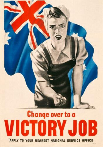Vintage Wartime Giant 1 Piece  Wall Art Poster V101