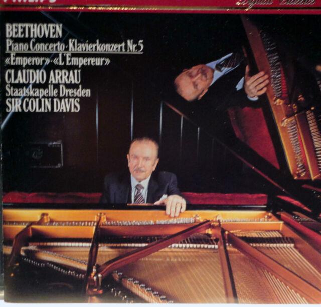 """CD ~ Beethoven: Piano Concerto No. 5 """"Emperor"""" - 1986 - Korea - Excellent"""