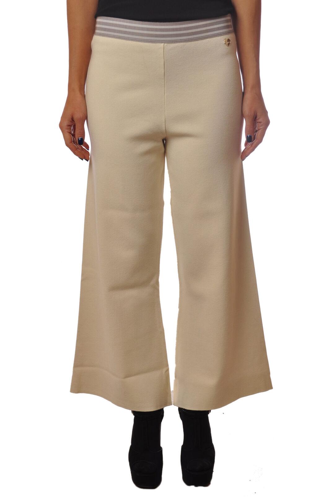 Twin Set  -  Pants - Female - Weiß - 4598722A185738