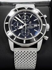 BREITLING Superocean Heritage A13320 Chronograph Black 46mm Men's BOX & PAPERS